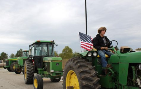"FFA Hosts ""Drive Your Tractor School"" Day"