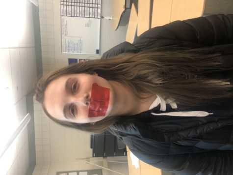Kylie Scultz is another member who participated in the day of silence.