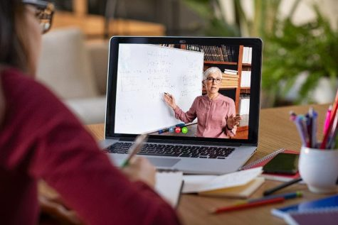 Photo from Forbes.com. During the distance learning process, teachers are commonly sending videos to their students to better explain assignments.