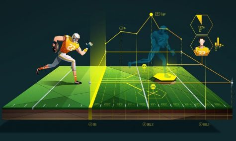 With new technology, coaches are able to see a three-dimensional perspective of their players.