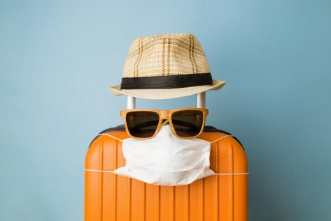 """Face masks are essential to safe travel"" VIA Forbes.com"