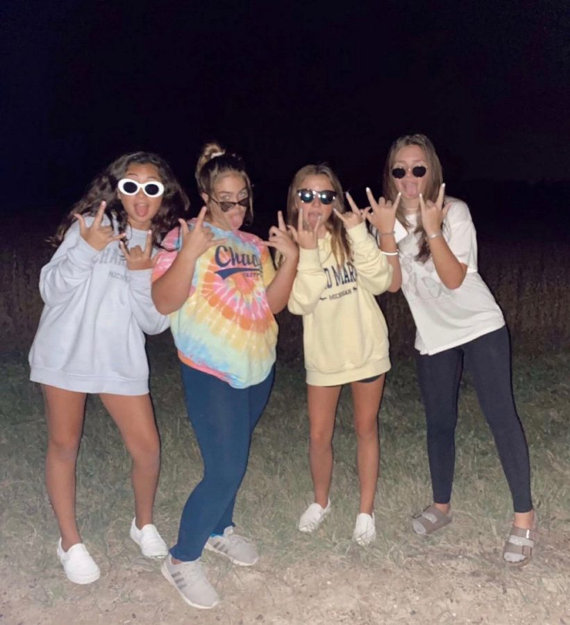 "All belonging to the Class of 2024, Katheryn Flores-Acevedo, Marisa Kohn, Brionna Johnson, and Mya Baldwin are in the home stretch of their freshman year. Brionna expressed, ""My advice to the incoming freshmen is to just be yourself."""